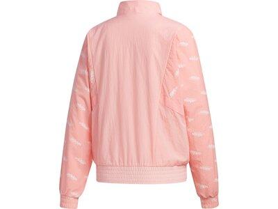 adidas Damen Favorites Trainingsjacke Pink