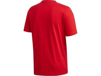 ADIDAS Herren Shirt E PLN Rot