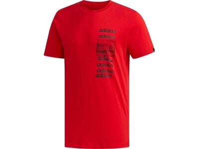 ADIDAS Herren Shirt 3X3 T Rot