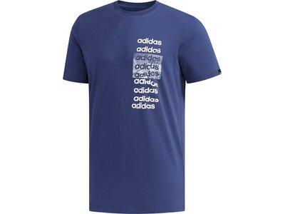 ADIDAS Herren Shirt 3X3 T Blau