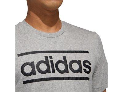 ADIDAS Herren Shirt LOGO LN T Silber