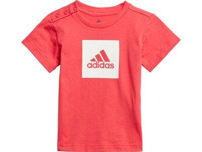 adidas Kinder Logo Sommer-Set Silber