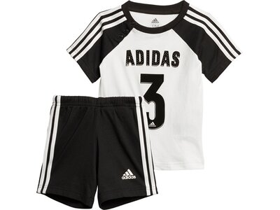adidas Kinder Sport Sommer-Set Schwarz