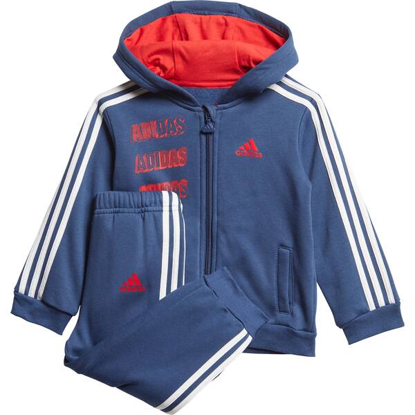 ADIDAS Kinder Jogginganzug Hooded Fleece