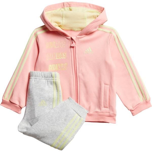 ADIDAS Kinder Jogginganzug Hooded Fleece
