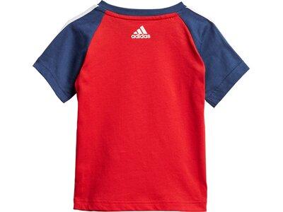 adidas Kinder Sport Sommer-Set Blau