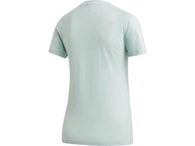ADIDAS Damen Shirt W E LIN SLIM T Silber