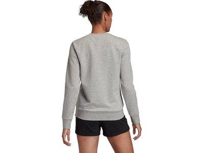 ADIDAS Damen Sweatshirt E LIN SWEAT Grau