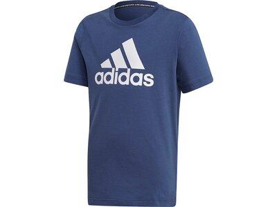 adidas Jungen Must Haves Badge of Sport T-Shirt Blau