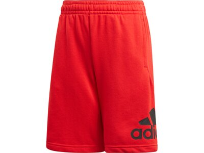 adidas Jungen Must Haves Badge of Sport Shorts Rot