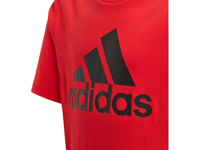 adidas Jungen Must Haves Badge of Sport T-Shirt Rot