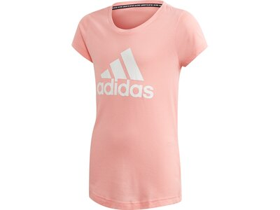 adidas Mädchen Must Haves Badge of Sport T-Shirt Rot