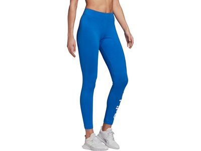 ADIDAS Damen Tight E LIN Blau