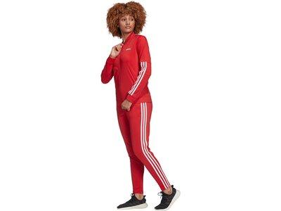 ADIDAS Damen Sportanzug BACK2BAS 3S Rot