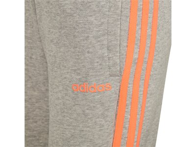 ADIDAS Kinder Sporthose YG E 3S Grau