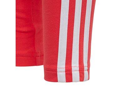 adidas Kinder Essentials 3-Streifen Tight Rot
