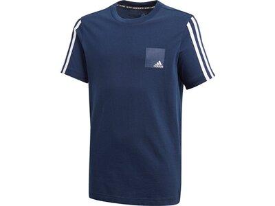 ADIDAS Kinder Shirt JB DMH LOGO TEE Blau