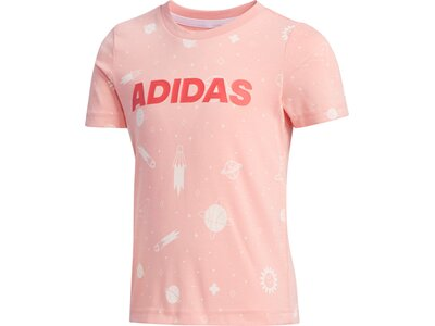 adidas Kinder Style Sommer T-Shirt Rot