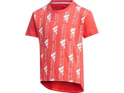 ADIDAS Kinder Shirt LG UR SS Braun
