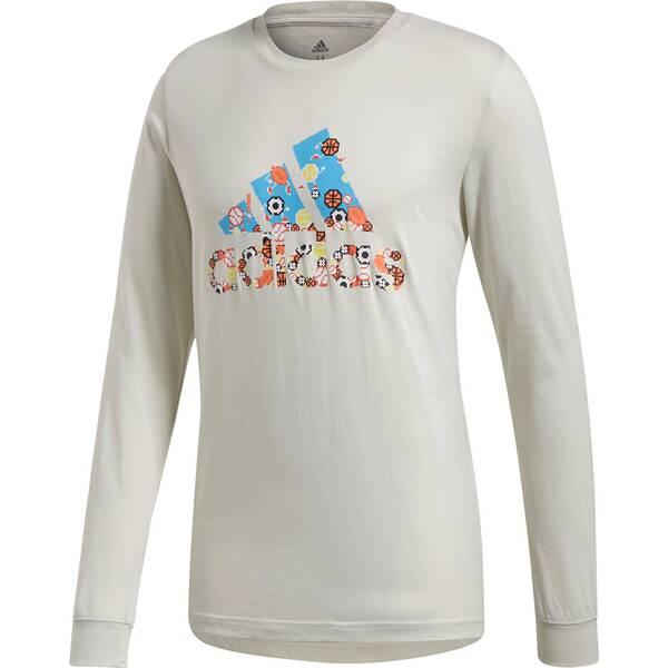 ADIDAS Herren Shirt 8-Bit BoS LS