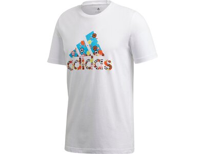 ADIDAS Herren Shirt 8-Bit BoS Grau