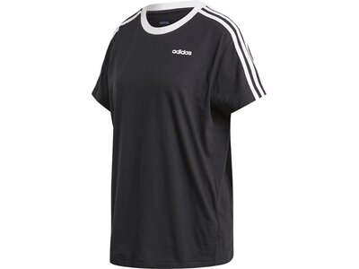 ADIDAS Damen Shirt 3S ESS BOYF T Schwarz