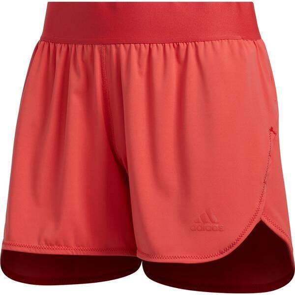 Hosen - ADIDAS Damen Shorts H.RDY TRG › Rot  - Onlineshop Intersport