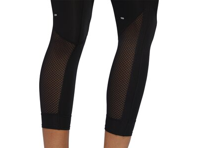 adidas Damen Own The Run 3-Streifen Fast Tight Schwarz