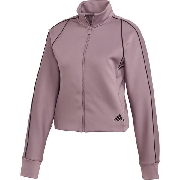 adidas Damen Style Athletics Tech Sweatjacke
