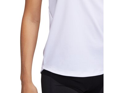 "ADIDAS Damen Trainingsshirt ""Badge of Sport"" Kurzarm Grau"