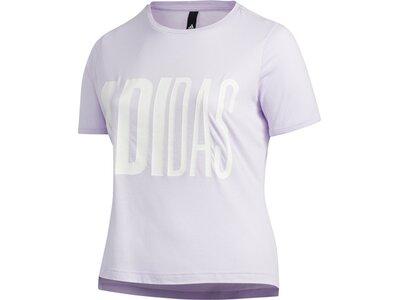 adidas Damen Universe T-Shirt – Große Größen Grau