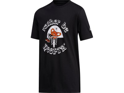 ADIDAS Kinder Shirt STRIPE RBH Schwarz