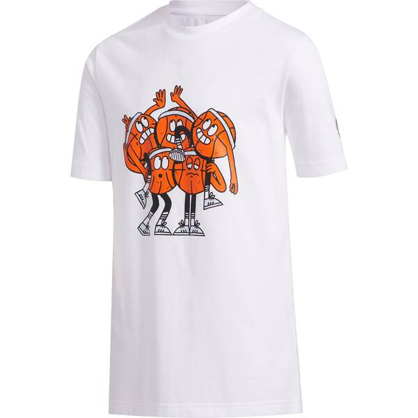 ADIDAS Kinder Shirt SS STRIPE TM