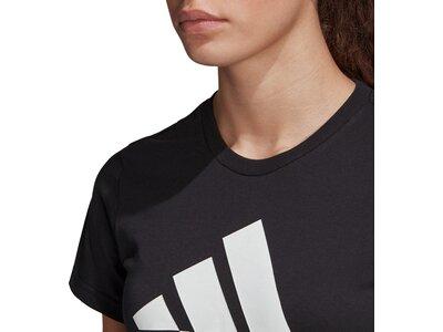 ADIDAS Damen Shirt BOS CO TEE Schwarz