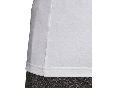 adidas Damen Logo Tee Essentials Sportmode T-Shirt Grau