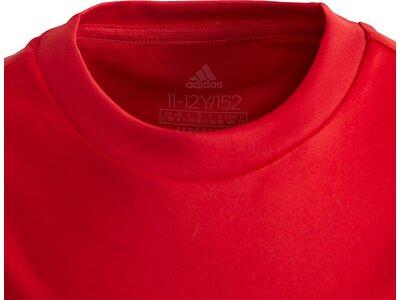 adidas Jungen Equipment T-Shirt Rot
