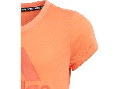 adidas Mädchen Must Haves Badge of Sport T-Shirt Braun