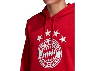 ADIDAS Replicas - Sweatshirts - National FC Bayern München DNA Graphic Hoody Rot