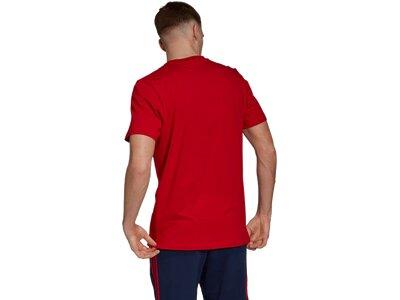 ADIDAS Replicas - T-Shirts - National FC Bayern München DNA Graphic T-Shirt Rot