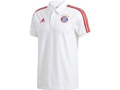 ADIDAS Replicas - Poloshirts - National FC Bayern München 3 Stripes Poloshirt Pink