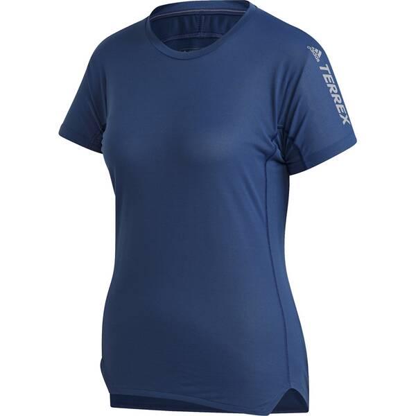 adidas TERREX Damen AGRAVIC PARLEY ALLAROUND T-SHIRT