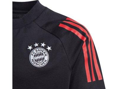 adidas Kinder FC Bayern München T-Shirt Schwarz