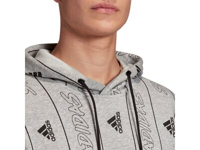 adidas Herren Must Haves Graphic Pullover Silber