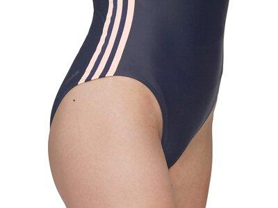 adidas SH3.RO 3-Streifen Colorblock Badeanzug Grau