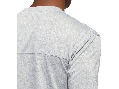 ADIDAS Damen Shirt CITY HTR LS TEE Silber
