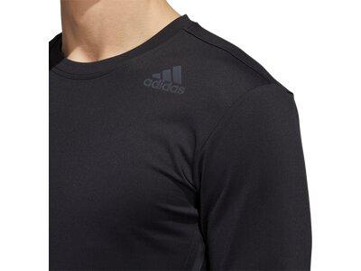 ADIDAS Herren Shirt AERO 3S CW LST Schwarz