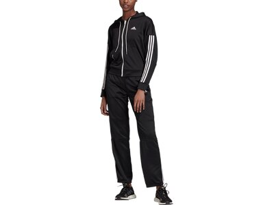 adidas Damen Game Time AEROREADY Trainingsanzug Schwarz