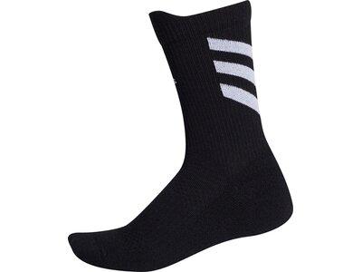 adidas Alphaskin Crew Socken Schwarz