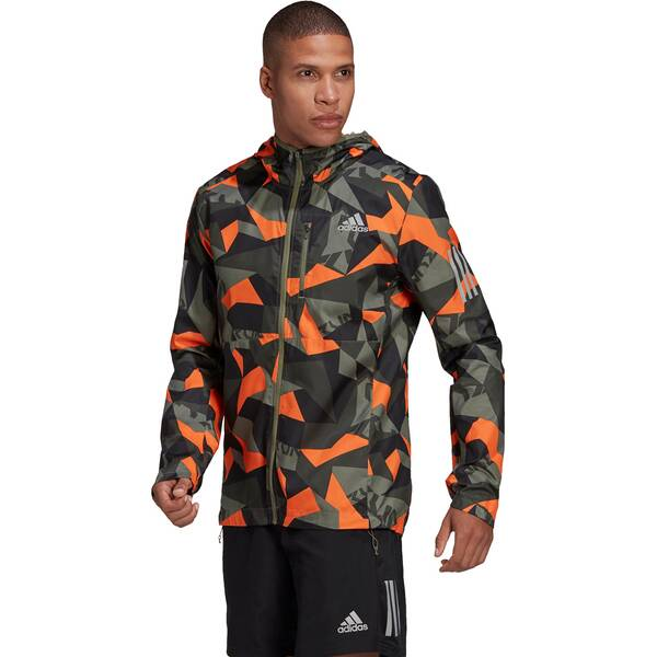 adidas Herren Laufjacke OWN THE RUN CAMO