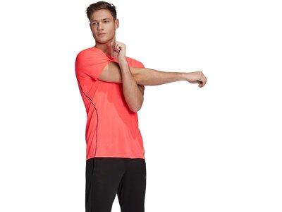 adidas Herren Runner T-Shirt Braun